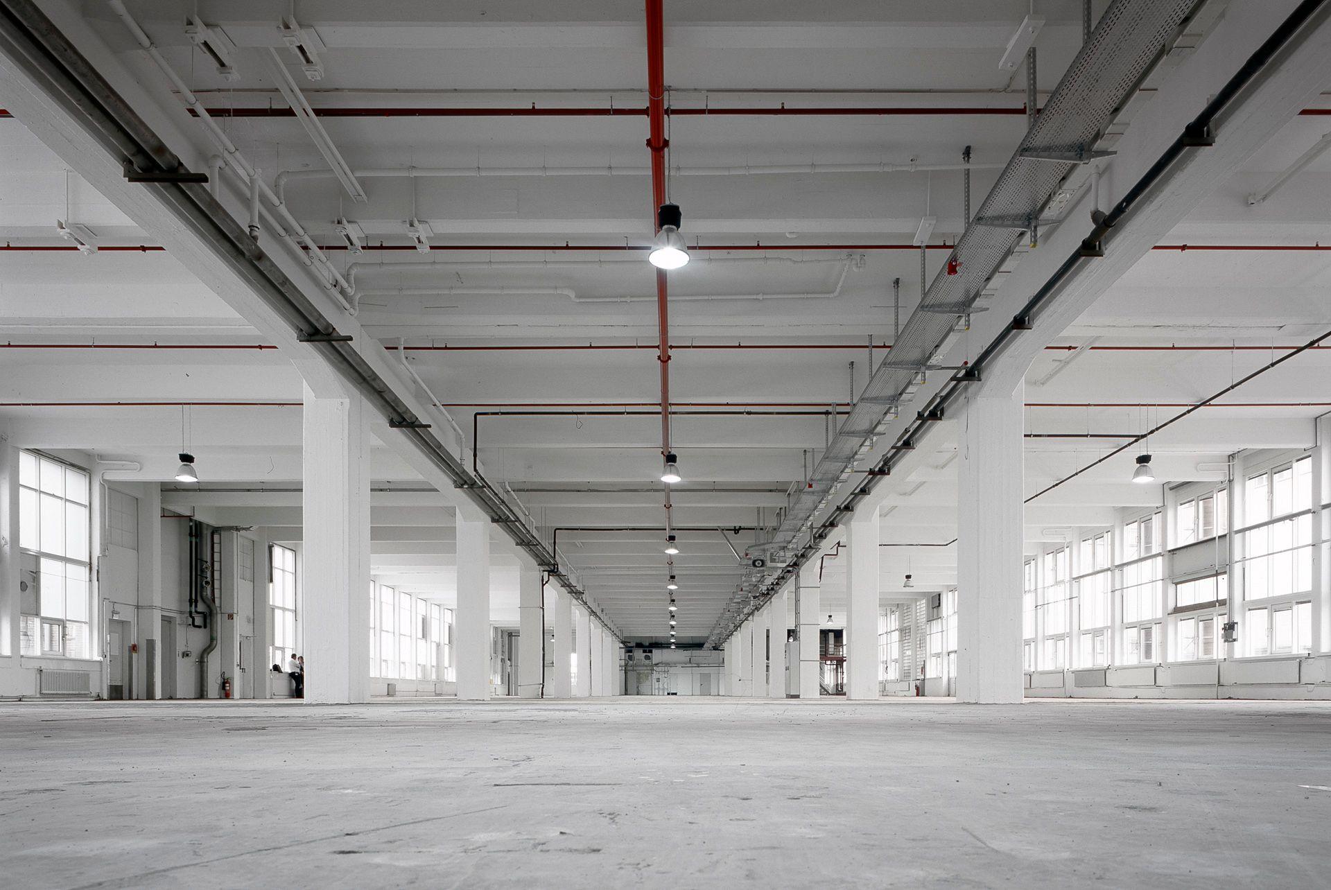 Ausbau Büroflächen