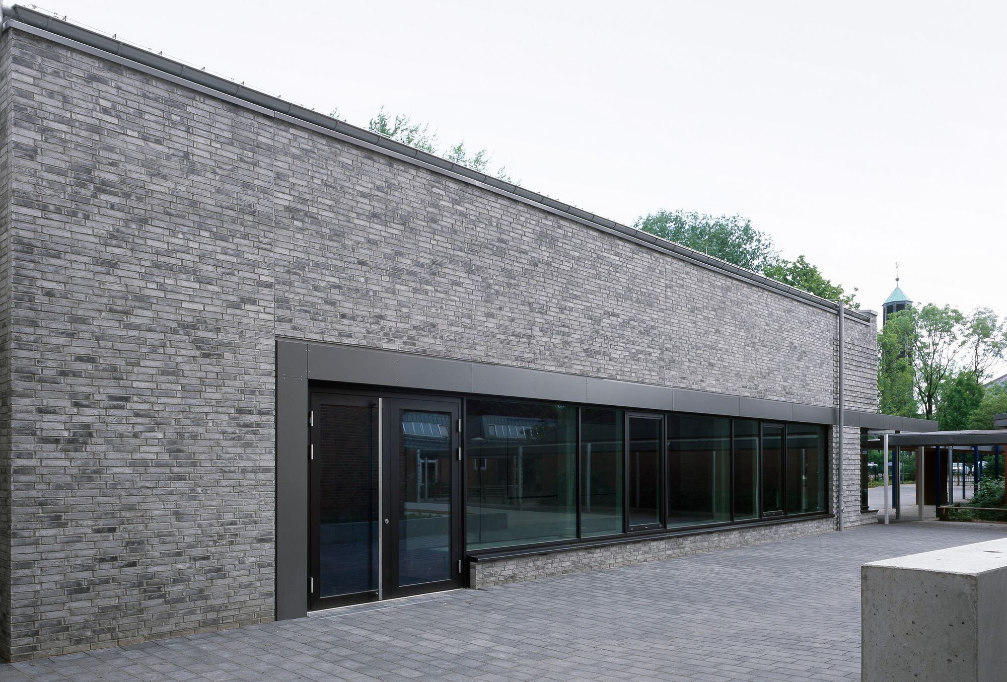 Neubau Pausenmehrzweckhalle