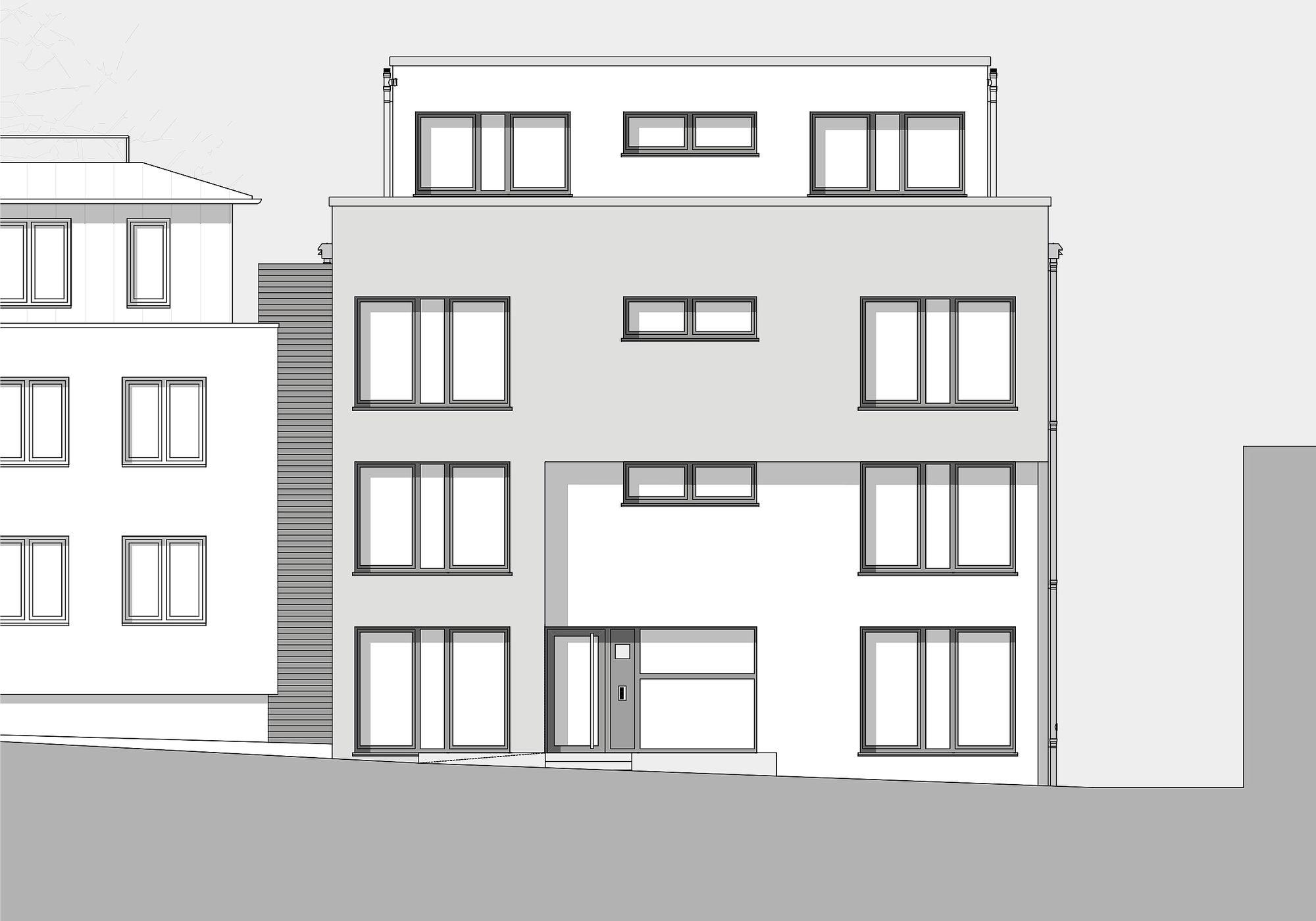 Neubau Wohngebäude G16